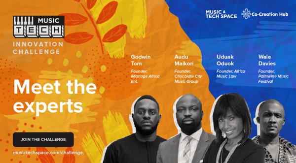 Nigeria's CcHUB launches Music-Tech Innovation Challenge 2020