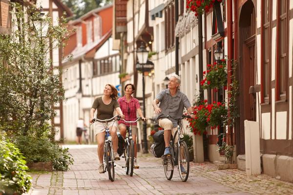 Fachwerkbauten wie hier in Hameln prägen die Städte im Weserbergland. (Foto: Weserbergland-Tourismus)