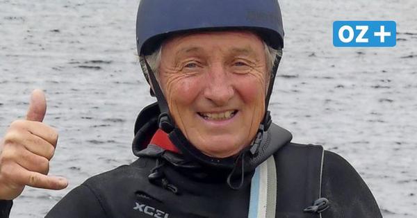 Reddelich: Er bringt Touristen zum Kiten und Surfen aufs Wasser
