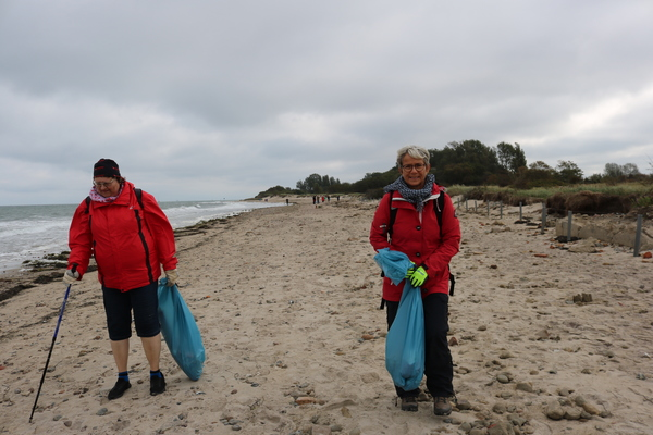 Coastal Cleanup Day in Kühlungsborn (Foto: Anja Levien)