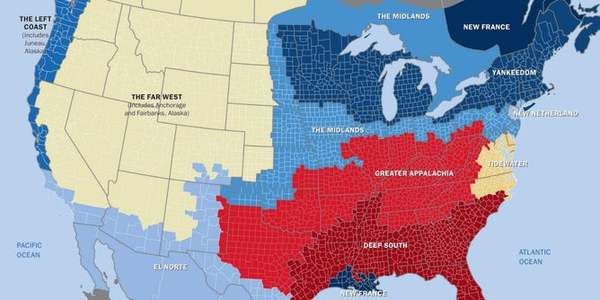 Fascinating Map from American Nations