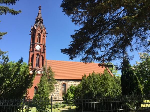 Die Paul-Gerhardt-Kirche in Ragow. Foto: Katja Reiser