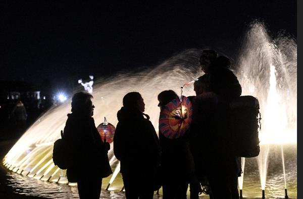 Statt Laternenumzug gibt es dieses Jahr im Großen Garten Laternenillumination. (Foto: Nancy Heusel)