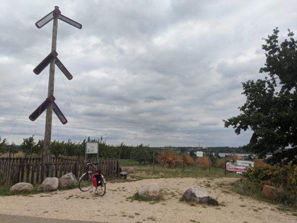 Die Telegrafenstation auf dem Fuchsberg. Foto: Lars Sittig