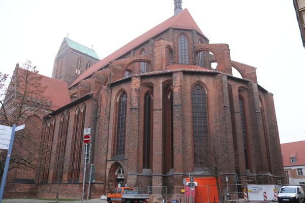 Die Nikolaikirche in Wismar (Foto: Haike Werfel)