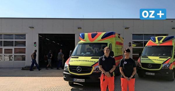 Wismar: Notfallsanitäter beziehen ihre neue Rettungswache