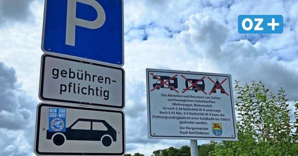 Region Bad Doberan: So gehen Gemeinden gegen Wildcamper vor