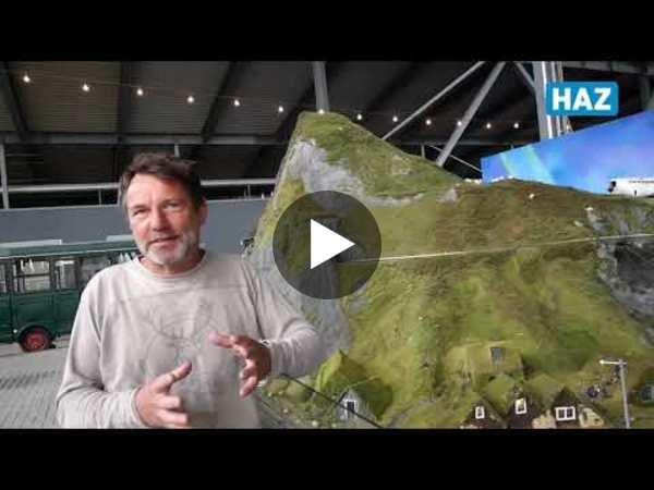 So entsteht die neue Modelleisenbahnanlage in Bispingen. (Video: Carolin George)