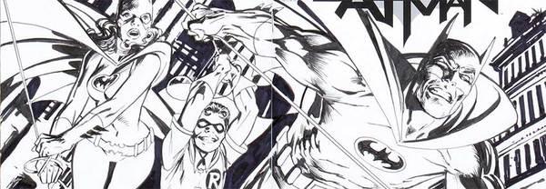 Alan Davis - Batman Blank Cover Art