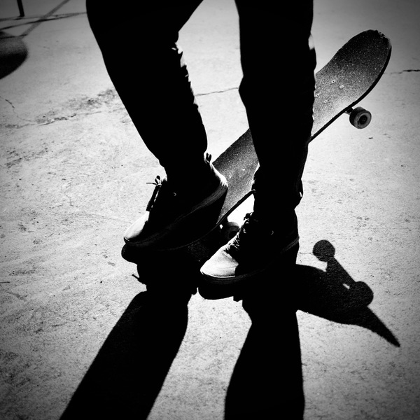 Pauls Skateboard. Photo by me.