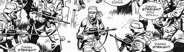 Dave Gibbons - Martha Washington Original Comic Art