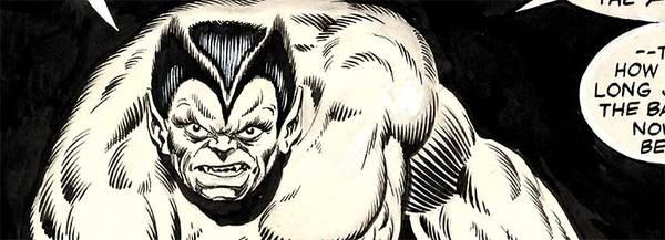 Jim Starlin - Beast Original Comic Art