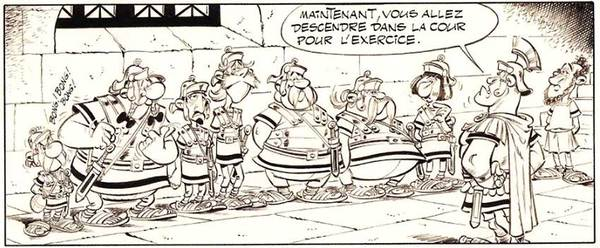 Albert Uderzo - Asterix Original Art