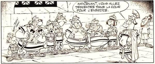 Albert Uderzo - Asterix Original Art