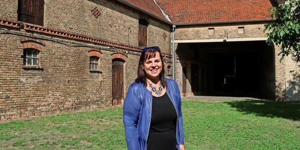 Wittbrietzens Ortsvorsteherin Simone Spahn. Foto: Jens Steglich