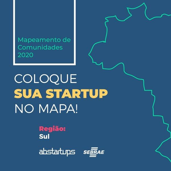 Vamos colocar sua startup no mapa?