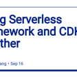 Using Serverless Framework and CDK together