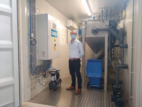 Entreprise de Zwevegem retire le fumier des eaux usées - Zwevegems bedrijf haalt mest uit afvalwater