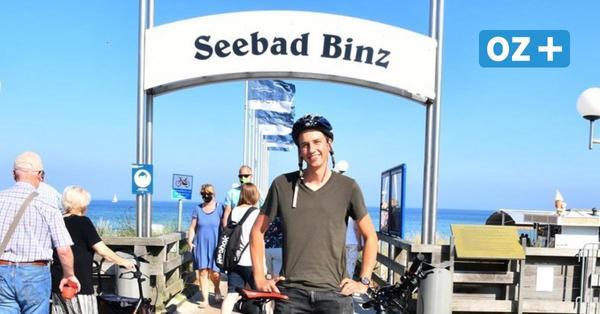Traum erfüllt: Sebastian Binz radelte 2700 Kilometer von San Sebastián bis nach Binz