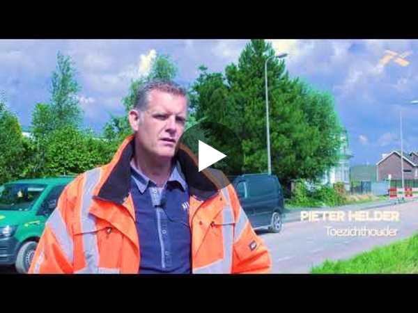 RIJNSATERWOUDE - Interview met betrokkenen Reconstructie Herenweg (video)