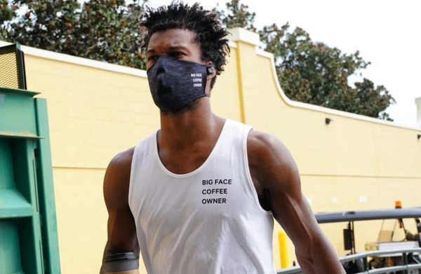NBA Star Jimmy Butler Files For Trademark Of Big Face Coffee