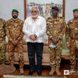 Rawlings receives Malian coup makers