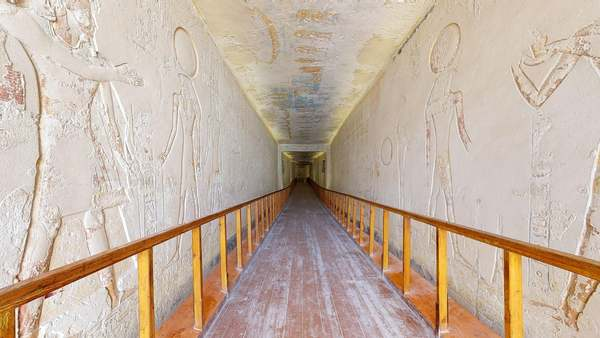 Visitez la tombe de Ramsès VI