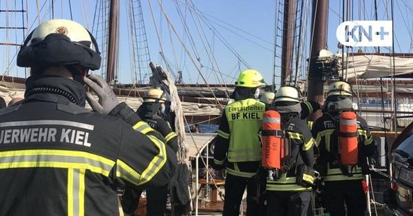 Kieler Hafen: Zwei Verletzte bei Feuer auf Segler