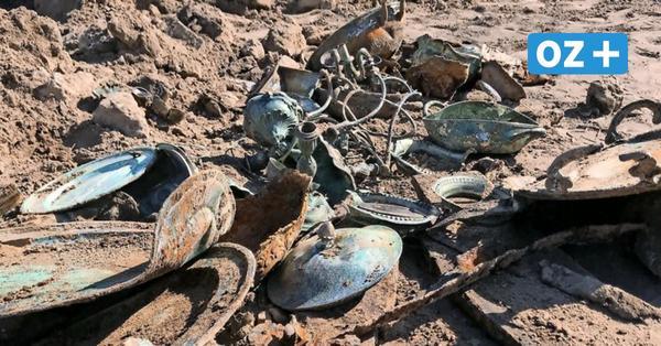 Silberschatz am Salzhaff entdeckt