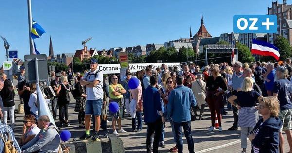 Anti-Corona-Demo in Rostock: So denken OZ-Leser über die Proteste