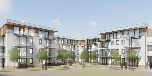 Mietwohnhaus mit Pflegedienst in Saarmund. Foto: Architekt Friedrich-W. Groefke