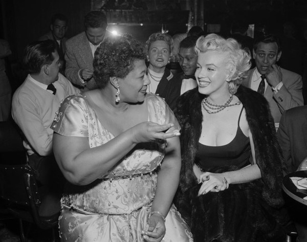 Besties: Ella Fitzgerald and Marilyn Monroe