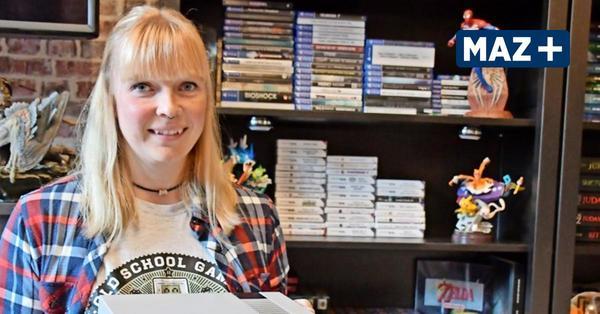 Anna Syring hat 450 Videospiele – und sammelt weiter