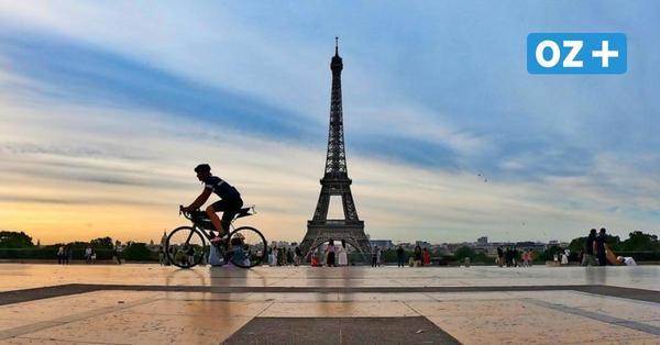 Zum Spaß: Stralsunder hat bei Radmarathon Frankreich durchquert