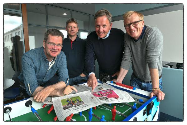 Die OZ-Sportredaktion (Foto: OZ)