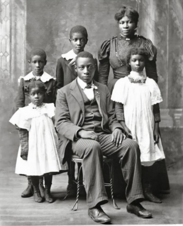 The Higdon Family [1898]