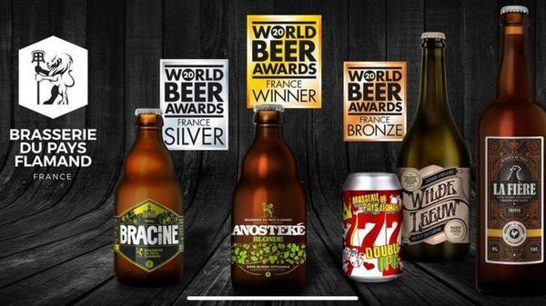 L'Anosteke blonde, meilleure bière française - De Anosteke is beste Franse blond bier