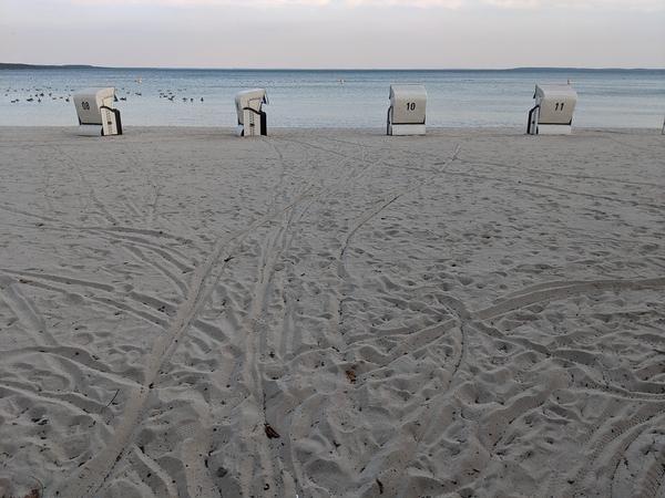 Der Strand in Klink. Foto: Lars Sittig