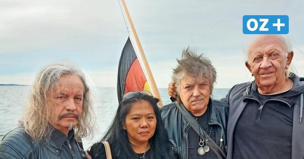 Puhdys-Gründer in Wismarbucht bestattet: Harry Jeskes letzte Reise
