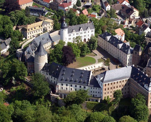 Blick aufs Altenburger Residenzschloss. Foto: Ronny Seifarth