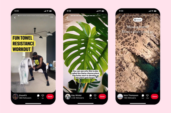 Pinterest officially launches new Story Pins format in beta