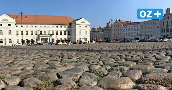 Mehr Grün und weniger Autos? Bürgerschaft Wismar redet über Pläne für den Marktplatz