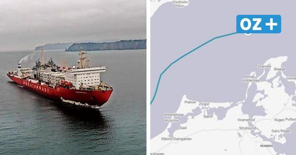 Gefährlich? Frachter mit Atomantrieb und zehn Meter Tiefgang passiert Kadetrinne und Rügen