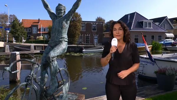 De Avondetappe vanuit Rijpwetering, Joop Zoetemelk niet in uitzending door ongeluk