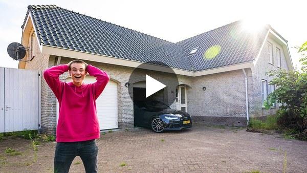 ROELOFARENDSVEEN - Het gloednieuwe huis van vlogger Don de Jong (video)