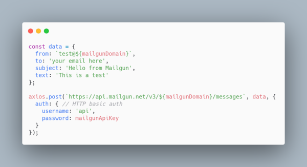 HTTP Basic Auth with Axios is easy