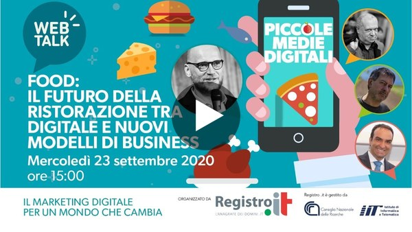 Piccole Medie Digitali   Web Talk - Food