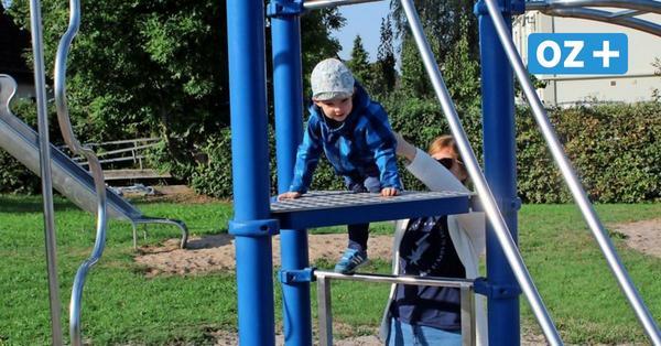 Boltenhagens Kinder sammeln Ideen und basteln Modelle für Spielplätze