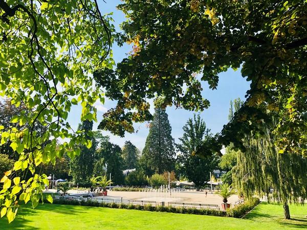 Der Kurpark in Bad Nenndorf. (Foto: Tourismugesellschaft Bad Nenndorf)