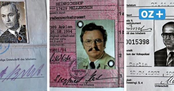 Die alten Fleppen der Leser rund um Usedom: Ein Führerschein für Panzer, Lkw und Pkw